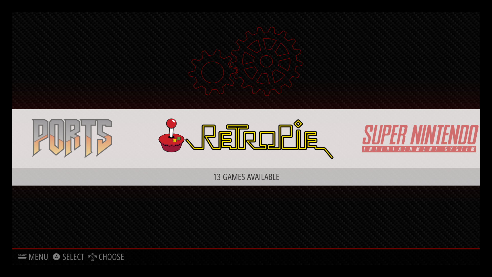RetroPie menu
