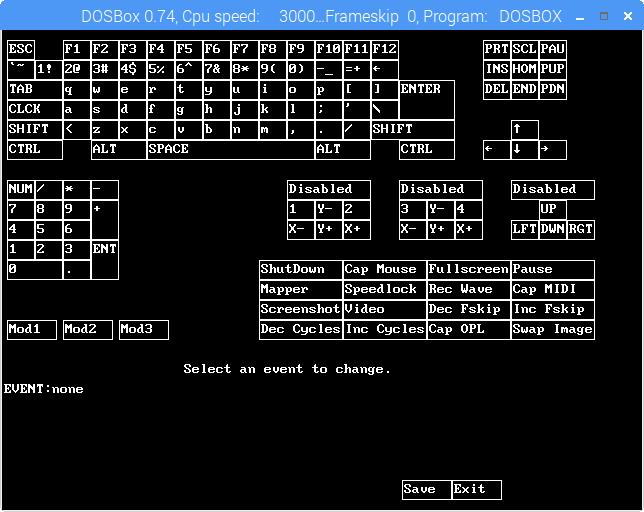 DOSBox - Startmapper