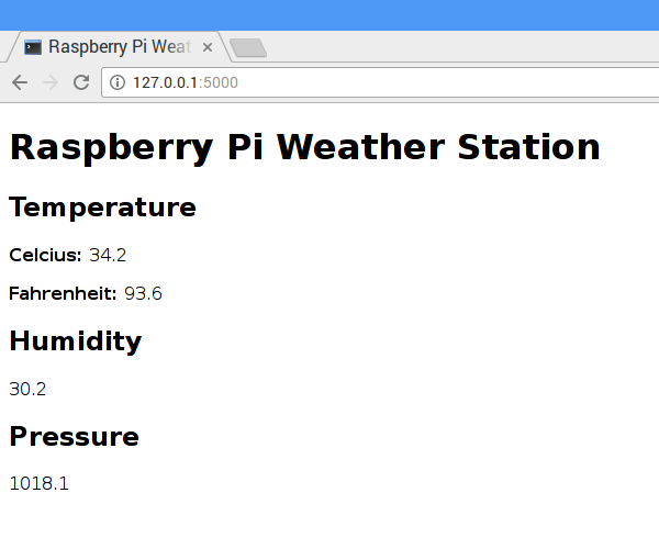 Raspberry Pi weather station (2)