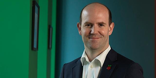 Interview with Eben Upton, CEO of Raspberry Pi (Trading) Ltd.