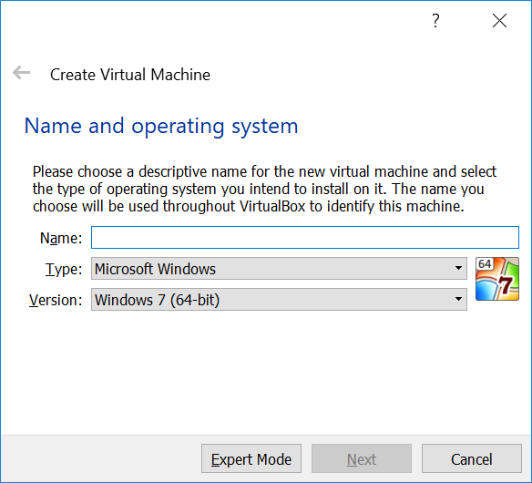 Create Virtual Machine
